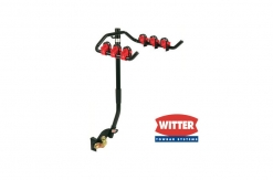 ZX109 Flange Towbar Mounted Cycle Carrier 3 bikes for vehicle with Spare Wheel overhang up to 187mm