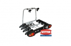 ZX400 Flange Towbar Mounted Tilting 4 Bike Cycle Carrier