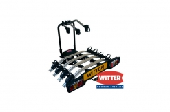 ZX404 Flange Towbar Mounted Tilting 4 Bike Cycle Carrier