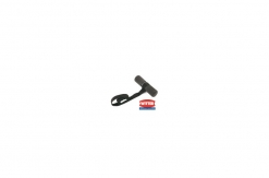Cycle carrier retaining strap