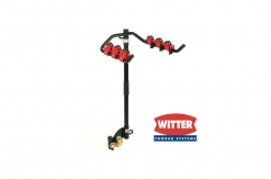 ZX89 Flange Towbar Mounted Cycle Carrier 3 Bike (with Clamps)
