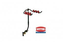 ZX99 Flange Towbar Mounted Cycle Carrier 3 bikes for vehicle with Spare Wheel overhang up to 110mm